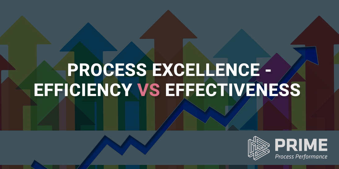 Process Excellence Efficiency vs Effectiveness