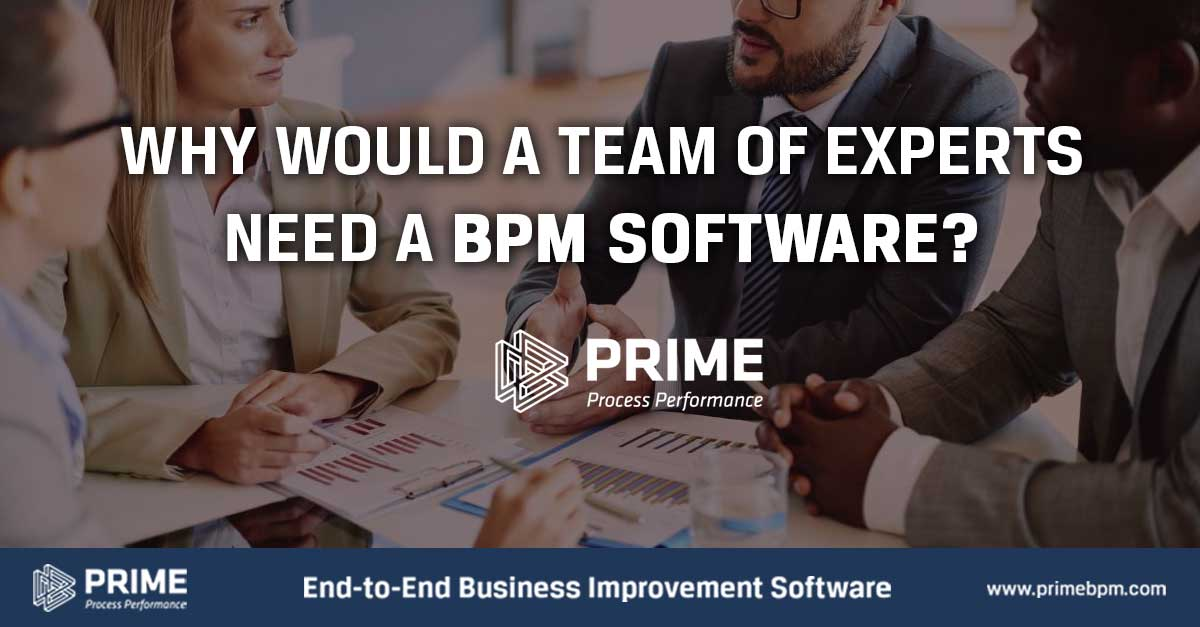 Why would a team of experts need a BPM Software