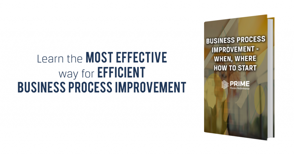 Business Process Improvement- When, Where and How to Start eBook