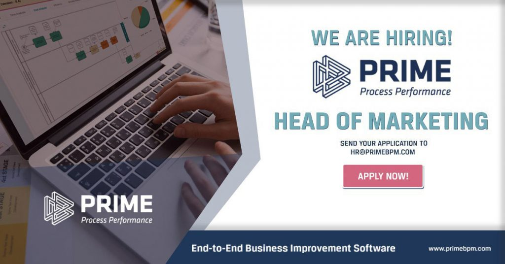 Head of Marketing - PRIME BPM